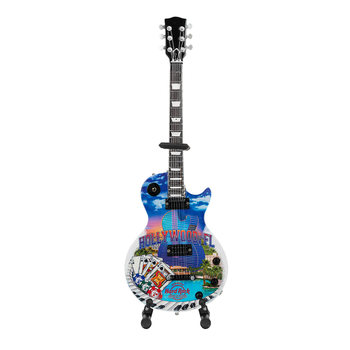 """Country Colors 10"""" Mini City Guitar with Stand"""