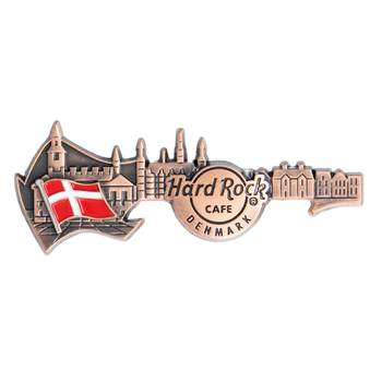 3D Skyline Guitar Country Pin Denmark