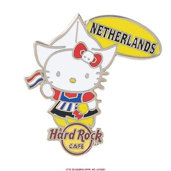 Hello Kitty Flag Pin Netherlands