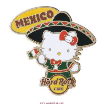 Hello Kitty Flag Pin Mexico