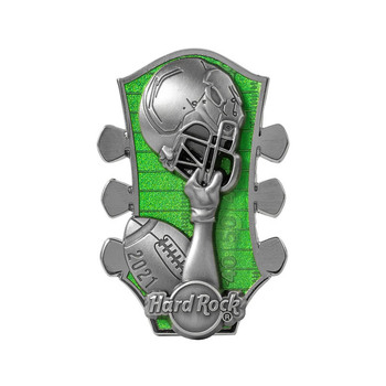 2021 Game Day 3D Football Prototype Pin