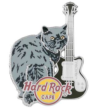 2021 Cat & Guitar Series Exotic Shorthair Pin