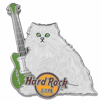 2021 Guitar & Cat Series Persian Pin