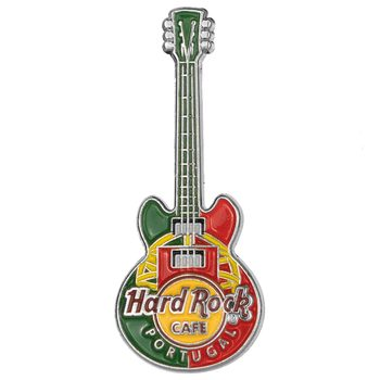 3D Country Flag Guitar Pin Portugal