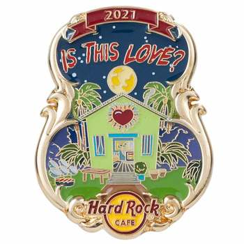 Artist Lyric 3D Series Is This Love Pin