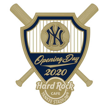 New York Yankees 2020 Opening Day Pin