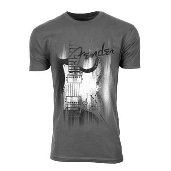 Men's Fender Paint Splash Guitar Tee