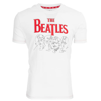 Men's The Beatles Fab Four Line Art Tee