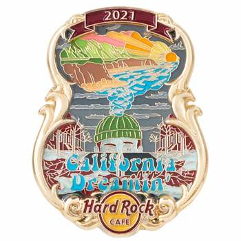 Artist Lyric 3D Series California Dreamin Pin
