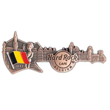 3D Skyline Guitar Country Pin Belgium