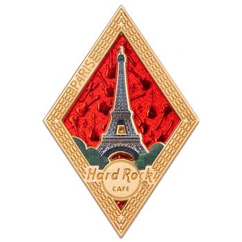 Diamond Puzzle Series Pin Paris