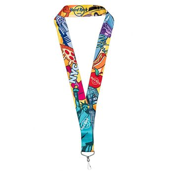 New York City Art Lanyard