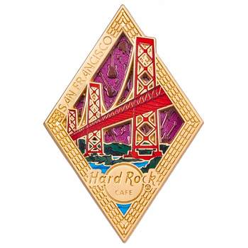 Diamond Puzzle Series Pin San Francisco