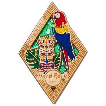 Diamond Puzzle Series Pin Honolulu