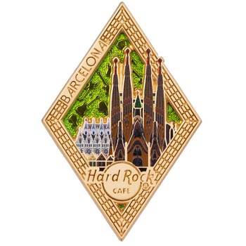 Diamond Puzzle Series Pin Barcelona