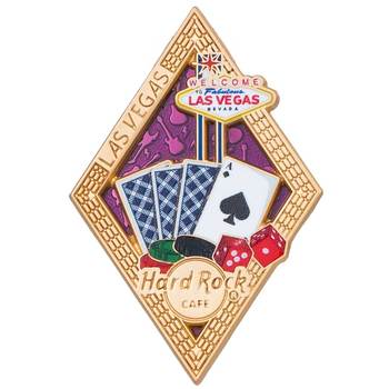 Diamond Puzzle Series Pin Las Vegas