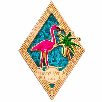 Diamond Puzzle Series Pin Miami