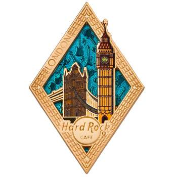 Diamond Puzzle Series Pin London
