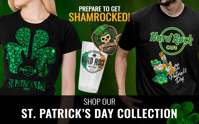 Hard Rock St. Patricks Day Collection