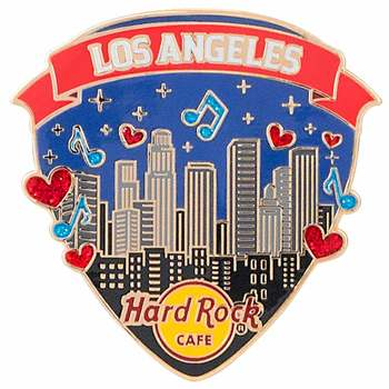 Los Angeles Music Love Pin