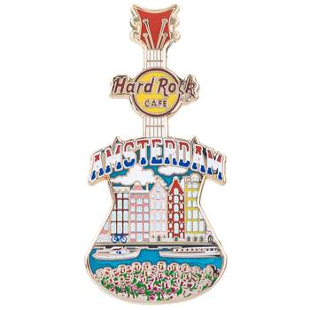 Country Colors City Art Pin