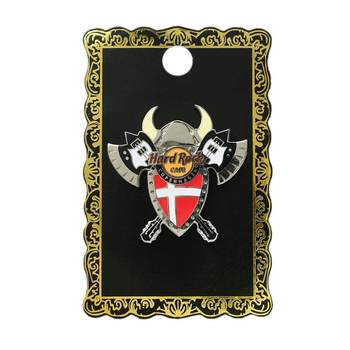 Copenhagen Axe and Shield Pin