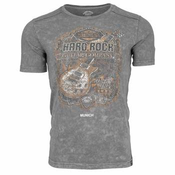 Men's Washed Guitar Graphic Tee