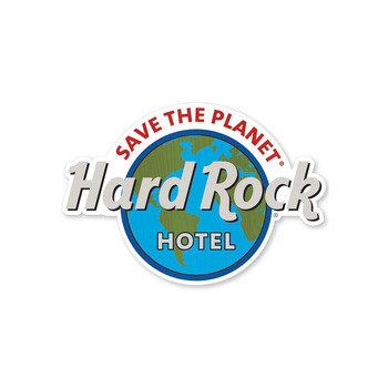 Hotel Save the Planet Wood Pin