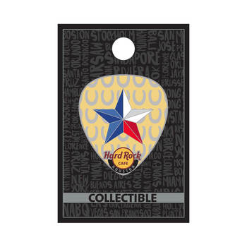 Houston Lonestar Guitar Pick Pin on Pin