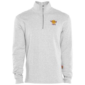 Men's London Classic Logo 1/4 Zip Fleece