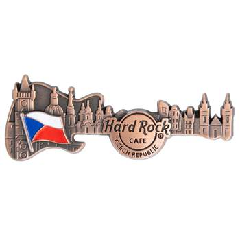 3D Skyline Guitar Country Pin Czech Republic