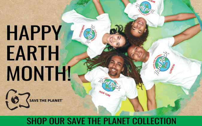 Hard Rock Save the Planet Collection