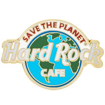 Save the Planet Pin - No City Name