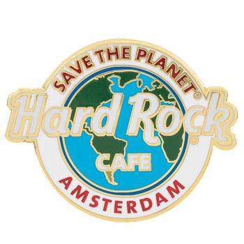 Save the Planet City Name Pin