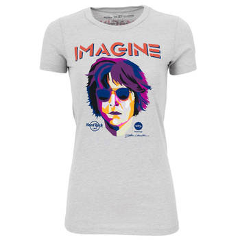 "Women's John Lennon: ""Imagine There's No Hunger"" Tee"