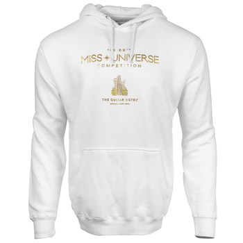 MISS UNIVERSE Guitar Hotel Gold Foil Hoodie