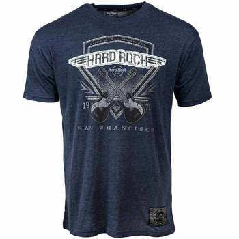 Men's Diamond Crossed Guitars Tee