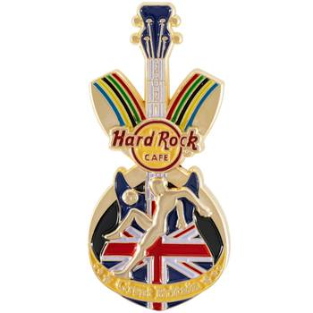 The Games Sports Pin Great Britain