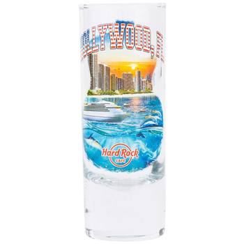 Country Colors City Shot Glass