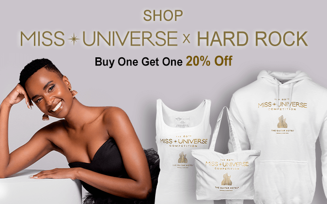 Hard Rock Miss Universe Collection