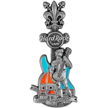 Florence 10th Anniversary 3D Pin
