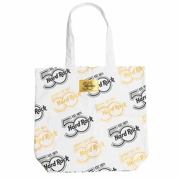 50th Anniversary Gold Logo Patch Tote