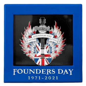 2021 Founders Day Boxed 3D Pin