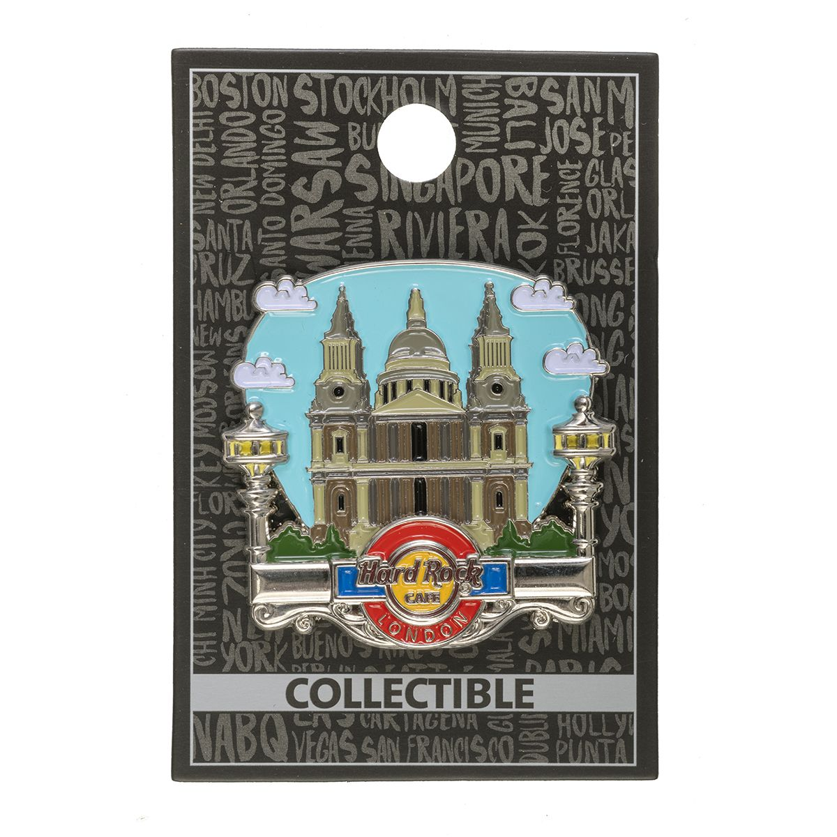 London St Paul Cathedral Pin