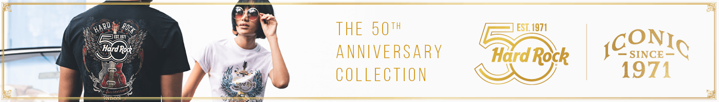 Hard Rock 50th Anniversary Collection