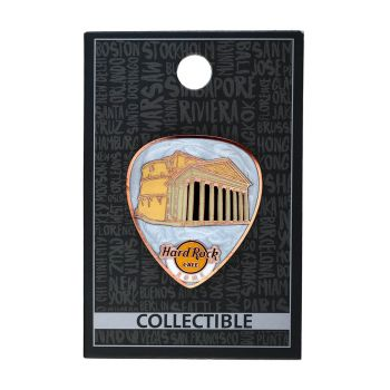 Rome Pantheon Guitar Pick Pin