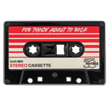 50th Anniversary For Those About to Rock Cassette Pin