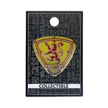 Edinburgh Coat of Arms Guitar Pick Pin