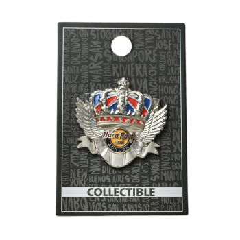 London Crown Pin