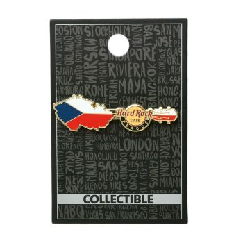 Prague Guitar Country Pin